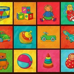 Пазл онлайн: Детский мир