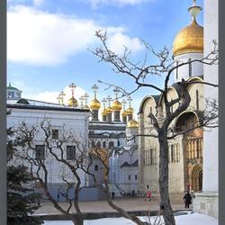Пазл онлайн: Территория Кремля