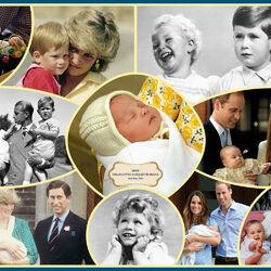 Пазл онлайн: Королевские дети