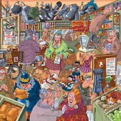 Пазл онлайн: Возбуждающий шоппинг