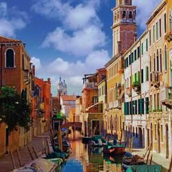 Пазл онлайн: В Венеции