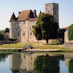 Пазл онлайн: Замок Немур