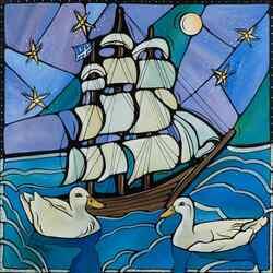 Пазл онлайн: Кораблик