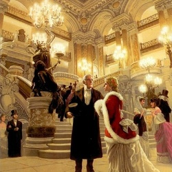 Пазл онлайн: Призрак Оперы