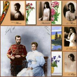 Пазл онлайн: Последний Император России Николай II в кругу семьи