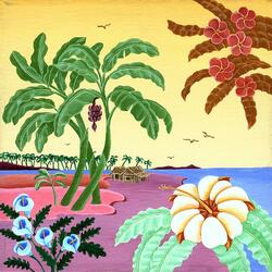 Пазл онлайн: На пляже