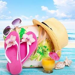 Пазл онлайн: Все на пляж