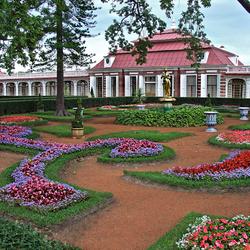 Пазл онлайн: Дворец Монплезир