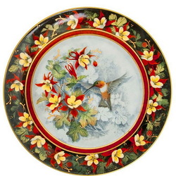 Пазл онлайн: Рыжий колибри