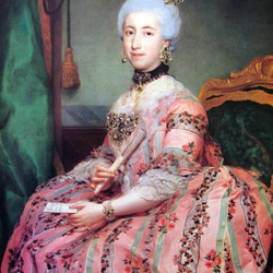 Пазл онлайн: Мария Франциска Пигнателли  и Гонзага, герцогиня Мединачали