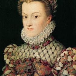 Пазл онлайн: Елизавета Австрийская, королева Франции