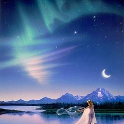 Пазл онлайн: Фея лунного света