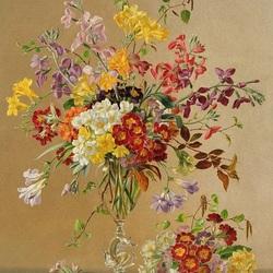 Пазл онлайн: Цветы романтики