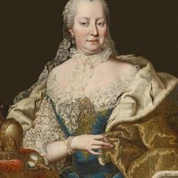 Пазл онлайн: Портрет Императрицы Марии Терезии Австрийской