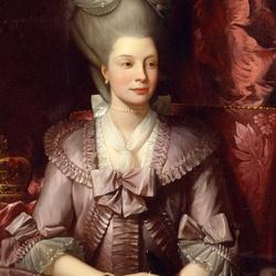 Пазл онлайн: Королева Шарлотта