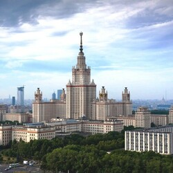 Пазл онлайн: Московский Университет