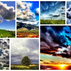 Пазл онлайн: Хмурое небо