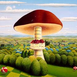 Пазл онлайн: Вот такой гриб