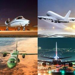 Пазл онлайн: То взлет, то посадка