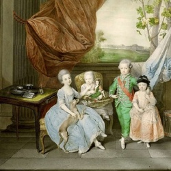 Пазл онлайн: Дети Фернандо де Бурбона, герцога Пармы