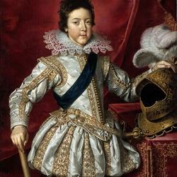 Пазл онлайн: Портрет Людовика XIII