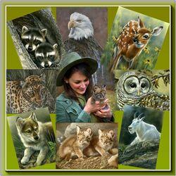 Пазл онлайн: Среди животных