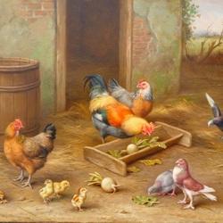Пазл онлайн: Птичий двор