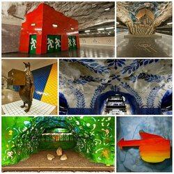Пазл онлайн: Необычное метро