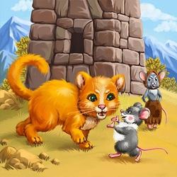 Пазл онлайн: Про мышонка