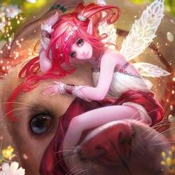 Пазл онлайн: Люсели, нежная фея