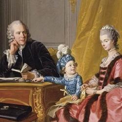 Пазл онлайн: Семейный портрет Филиппа V