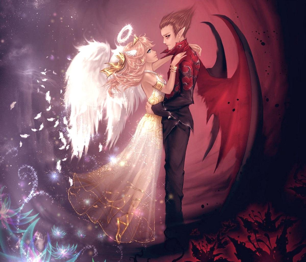 Цитаты о любви ангела и демона