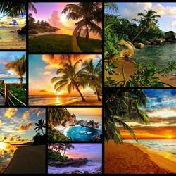 Пазл онлайн: Рассветы и закаты