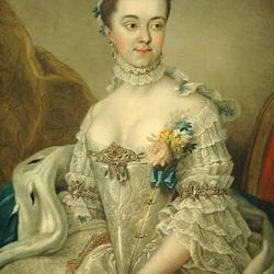 Пазл онлайн: Герцогиня Шарлотта Амалия Аугустенбургская