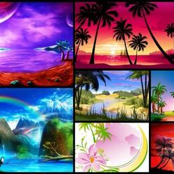 Пазл онлайн: Тропики