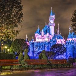 Пазл онлайн: Сапфировый замок