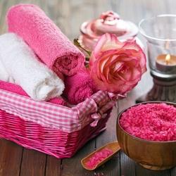 Пазл онлайн: Розовый