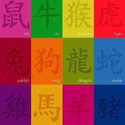 Пазл онлайн: Восточный календарь