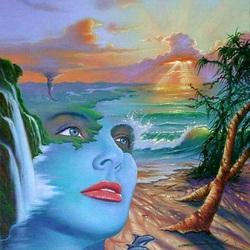 Пазл онлайн: Взгляд мечты/Dreamy Eyes