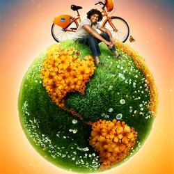 Пазл онлайн: Эта веселая Планета