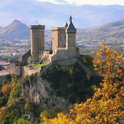 Пазл онлайн: Замок Фуа