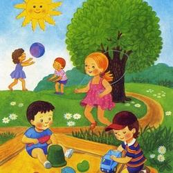 Пазл онлайн: Солнечное лето