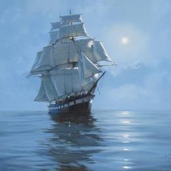 Пазл онлайн: Лунный корабль