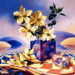 Пазл онлайн: Хранитель цветов