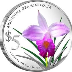 Пазл онлайн: Бамбуковая орхидея