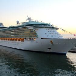 Пазл онлайн: Круизный лайнер ''Liberty of the Seas''