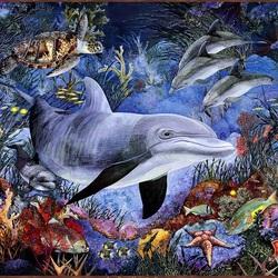 Пазл онлайн: Морская фантазия