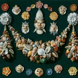 Пазл онлайн: Картина из ракушек