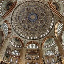 Пазл онлайн: Купол мечети Селимие