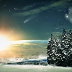 Пазл онлайн: Фантастическая зима